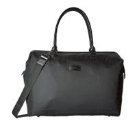 Lady Plume Medium Weekend Bag - BLACK