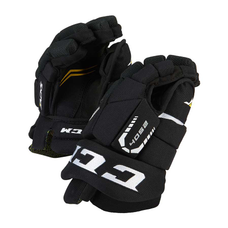 CCM Junior Hockey Gloves - BLACK & RED