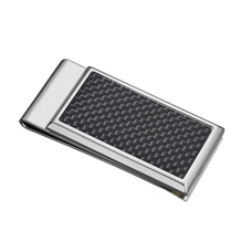 Carbon Black Stainless Steel Money Clip