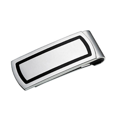 Stainless Steel Outlined Money Clip