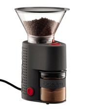 BISTRO Electric Burr Coffee Grinder - BLACK