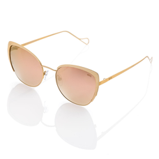Casta Gold/Rose Gold Mirror Sunglasses for Women