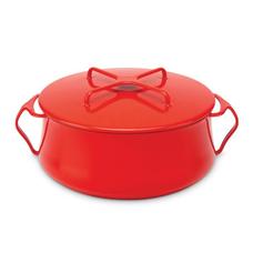 Kobenstyle 6 Quart Casserole - CHILI RED