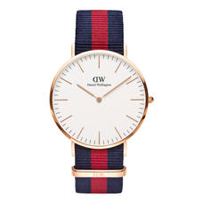 Men's Classic Oxford Nato Watch - ROSE GOLD