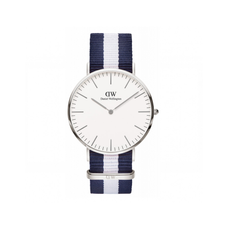 Men's Classic Glasgow Nato Watch- SILVER