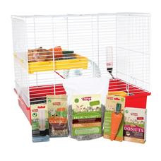 Living World Deluxe Hamster Starter Kit - Rodent