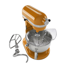 Professional 600 Series Stand Mixer - TANGERINE