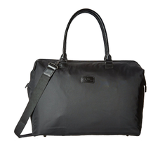 Lady Plume Medium Weekend Bag - BLACK