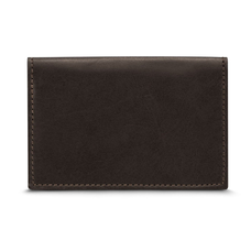 Folded card holder with four slots