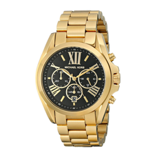 Women's Bradshaw Stainless Steel Watch - BLACK/GOLD