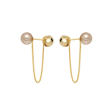 Bell Earrings - PINK