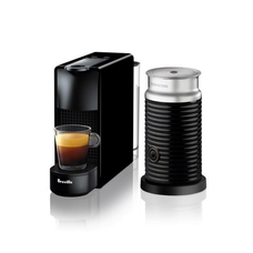 Essenza Mini Coffee Machine with Aeroccino - Black