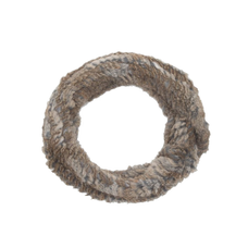 Nantes Rabbit Fur Scarf - NATURAL