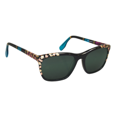 Ronit's Hand-Painted Gold Leaf Sunglasses