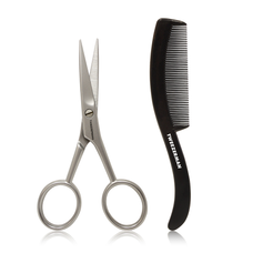GEAR Moustache Shears and Comb