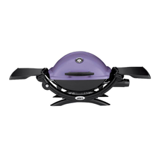 Q 1200  Liquid Propane Gas Grill - PURPLE