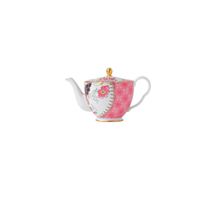 Butterfly Bloom Ceramic Teapot