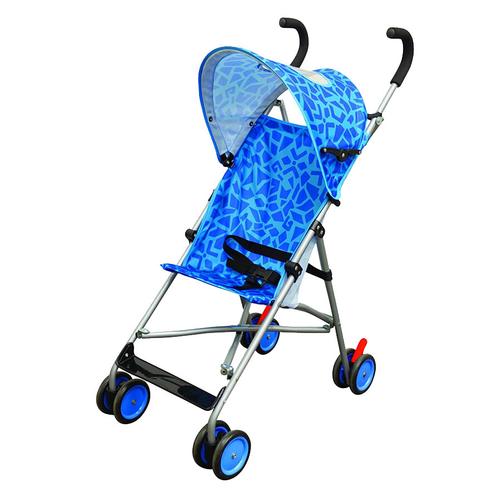 Light Umbrella Stroller - BLUE GEO SPLASH