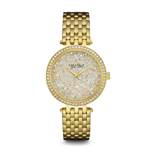Women's Shimmering Stainless Steel Watch - GOLD