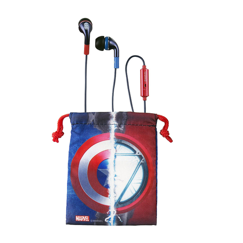 Captain America Noise Isolating Earbuds