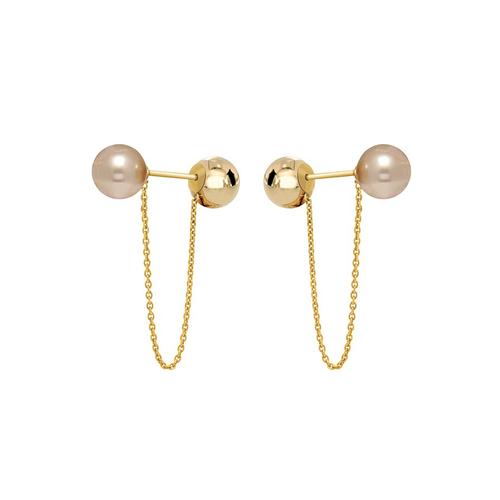 Bell Earrings - PINK